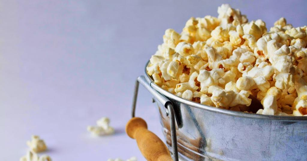 cooking methods of popcorn are different