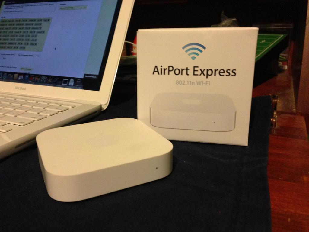 AirPort Express Console