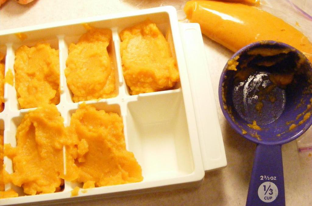 Is it possible to freeze pumpkin puree