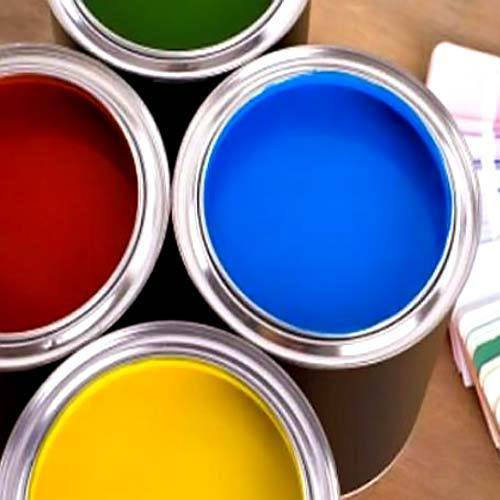 Silicate paint for interior work