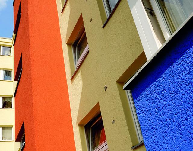 Silicate facade paint