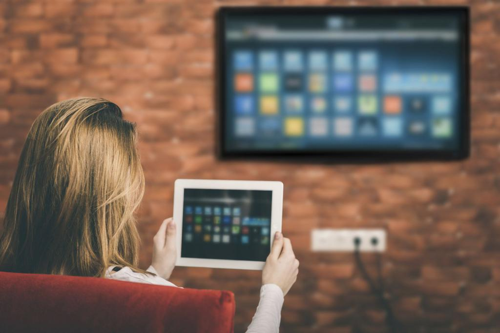 TV, which is equipped with Wi-Fi