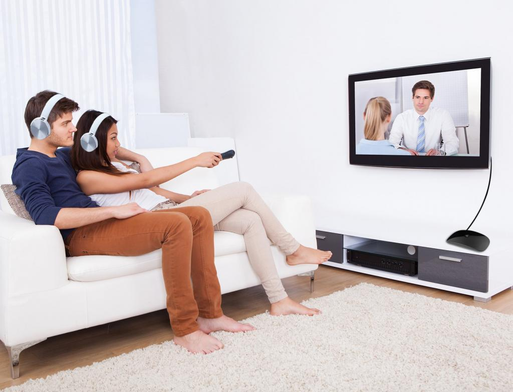 TV with Wi-Fi and Bluetooth