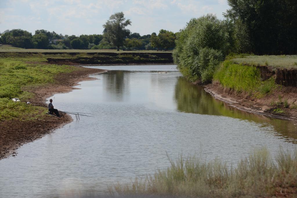 Кинделя - Ташла: рай для рыбака Почему эти места так привлекательны