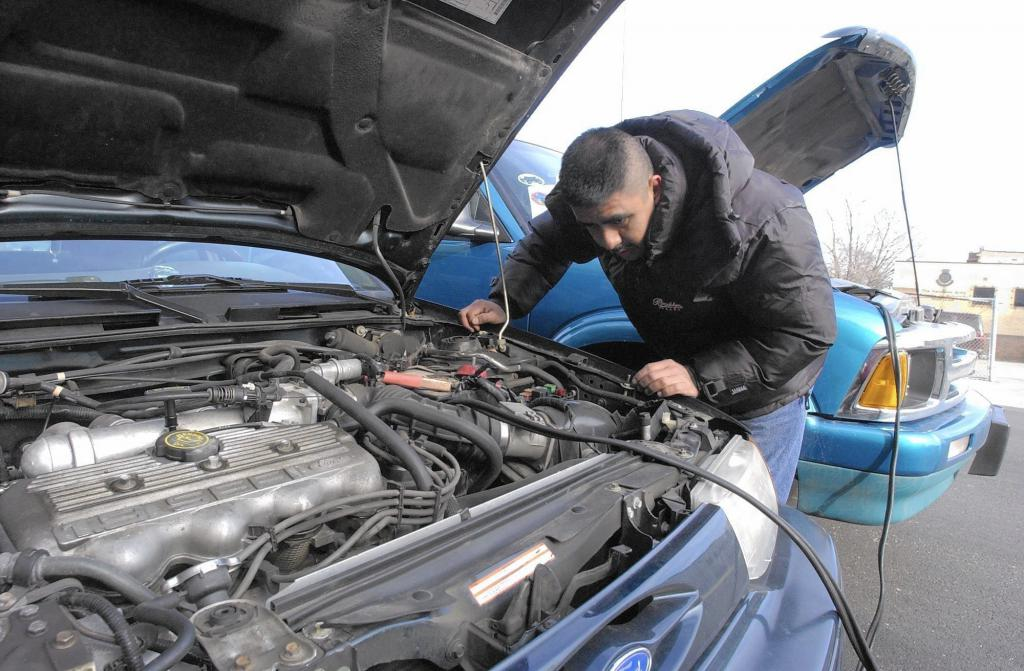 Starting a diesel engine cars in the cold