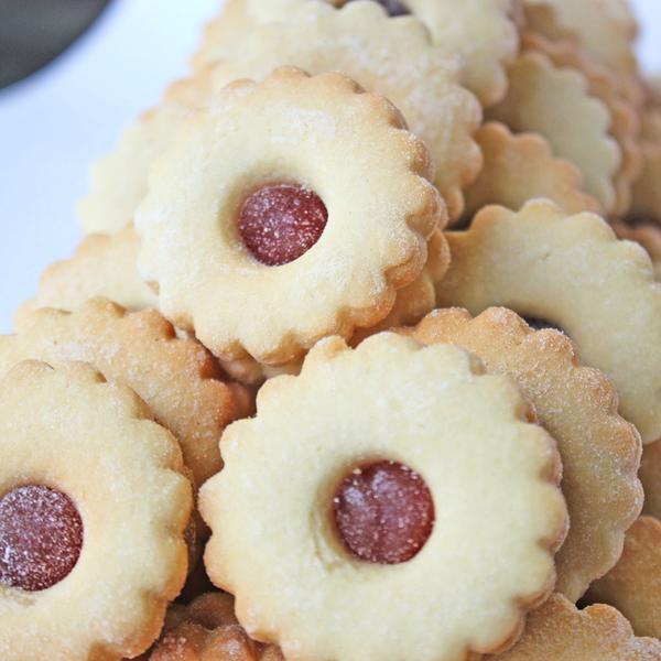 печенье на маргарине с джемом фото только