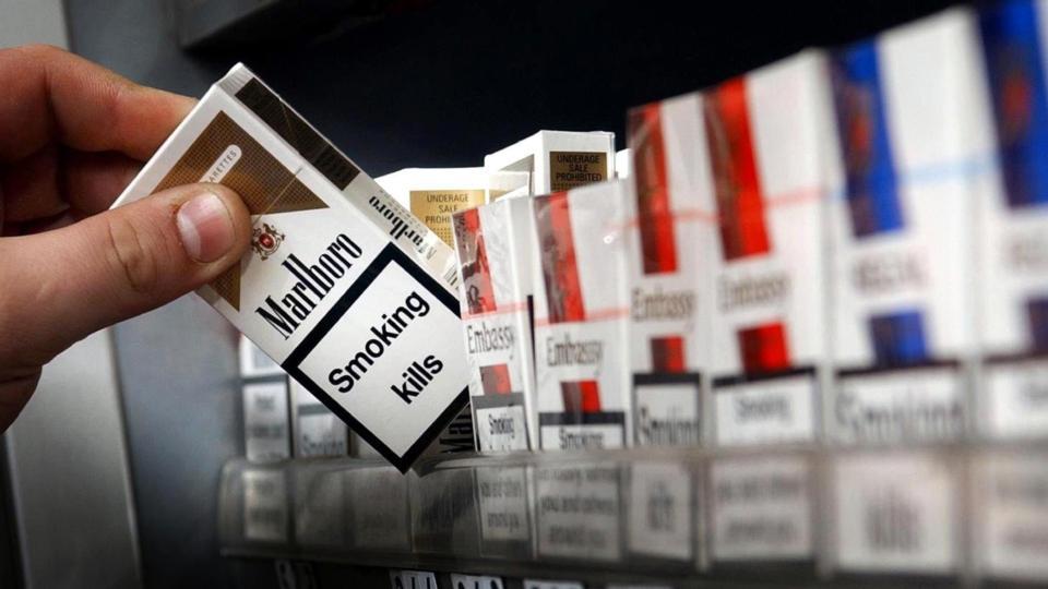 Заказать импортные сигареты через интернет табачные изделия в рекламе