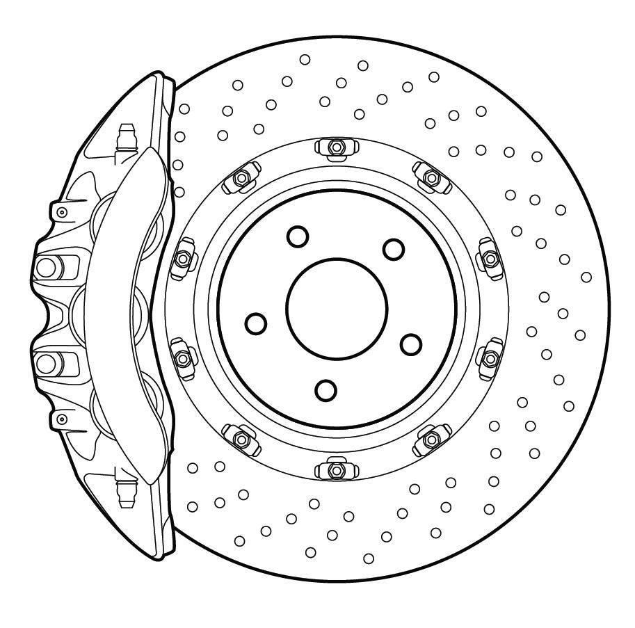 2264681 - Устройство заднего тормозного суппорта