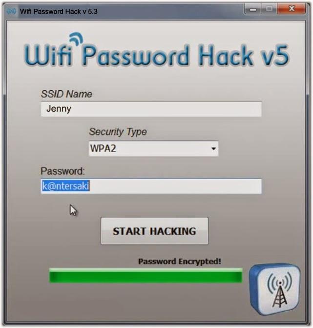 Hacker passwords of wireless networks