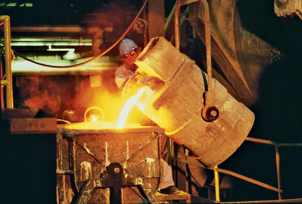 Iron production