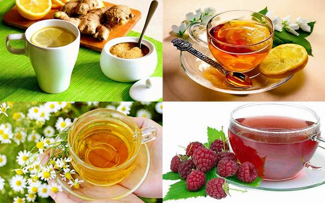 reduce the temperature of folk remedies