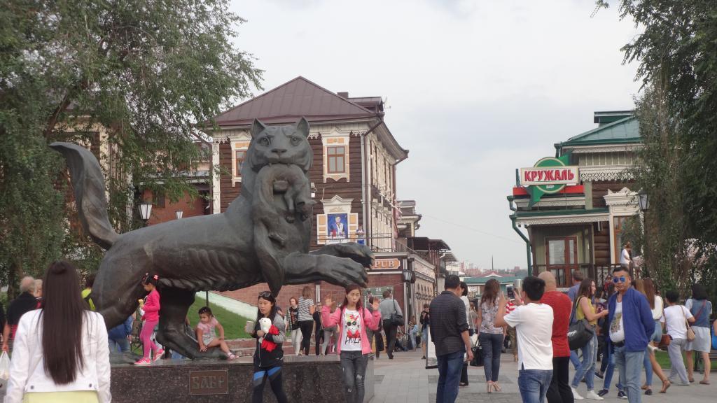 Численность населения города Иркутска