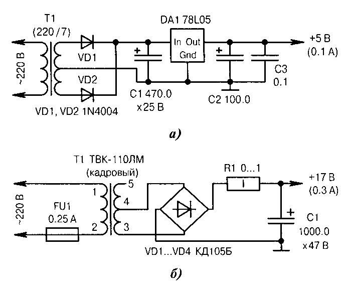 These are rectifier circuits.