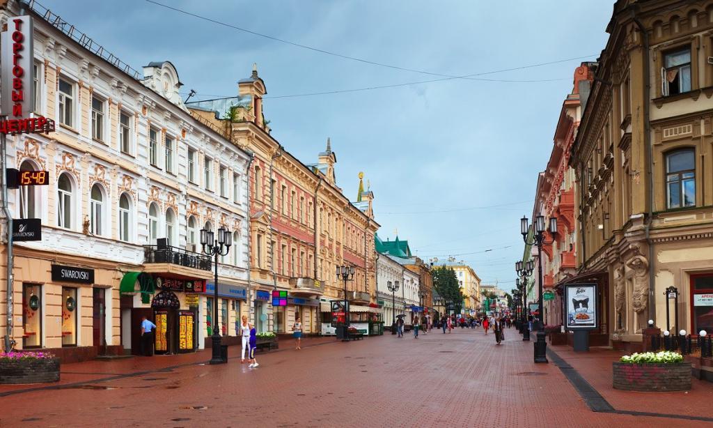 Nizhny Novgorod - which federal district