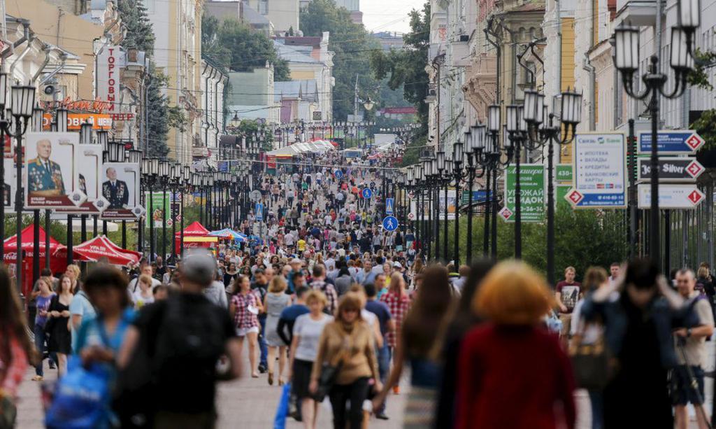 Population of Nizhny Novgorod