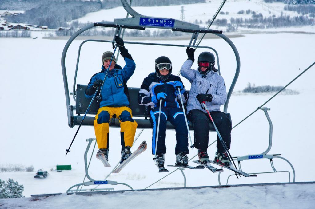 Skiing in Petrozavodsk
