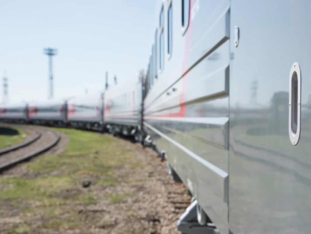 Modern cars in the trains of Russian Railways
