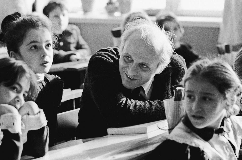 Amonashvili Shalva Aleksandrovich: pedagogical achievements