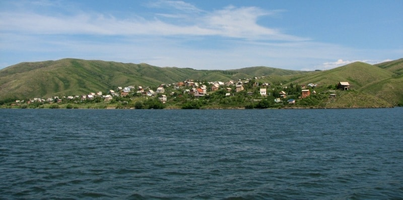 Coast Bukhtarma reservoir