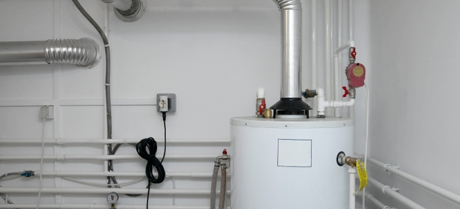 Boiler in the water system