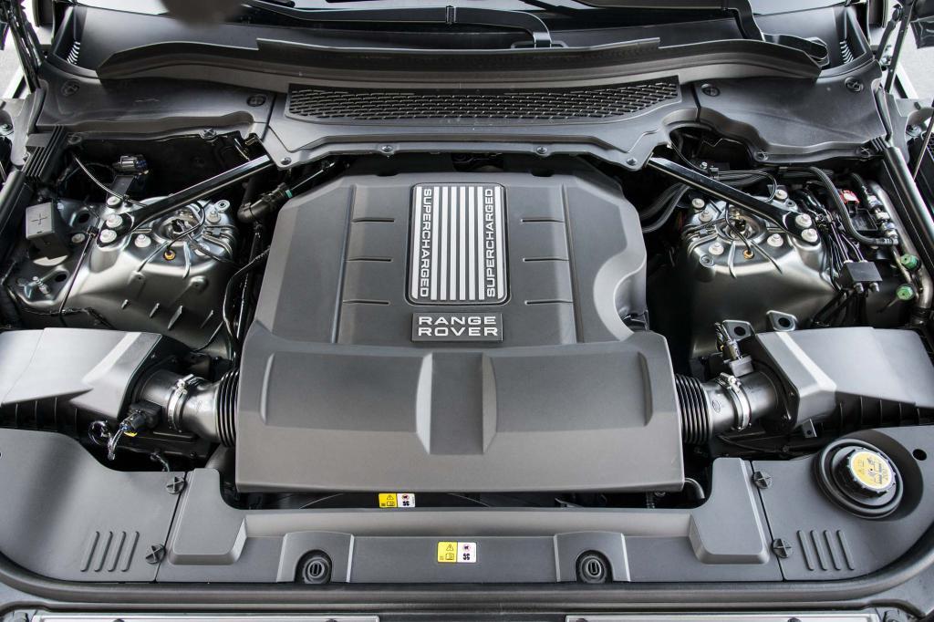 Дизельный двигатель V8 на Range Rover
