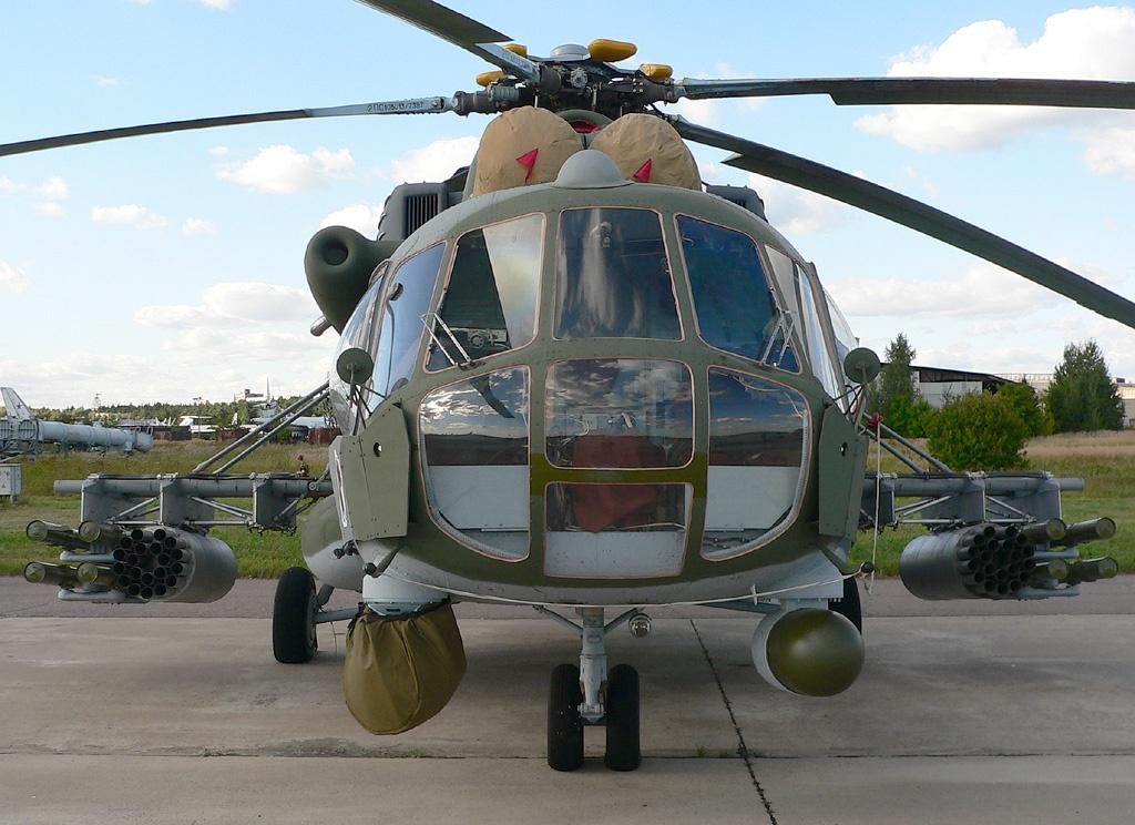 Mi-8AMTSH & quot; Terminator & quot;