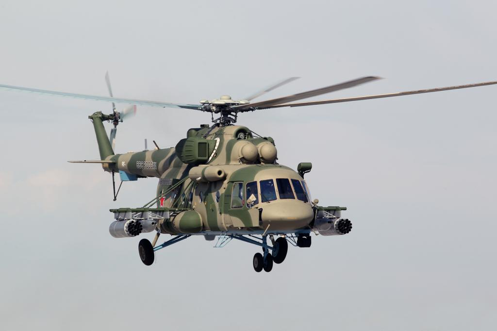 """Mi-8AMTSH """"Terminator"""", specifications"""