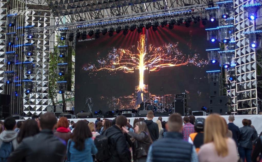 Concert on Sophia Square in Kiev