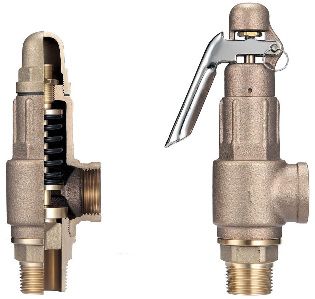 Safety valve device