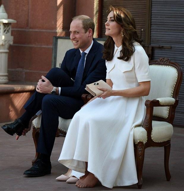 Ноги Кейт устали