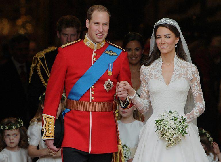 Кейт Миддлтон с принцем Уильямом