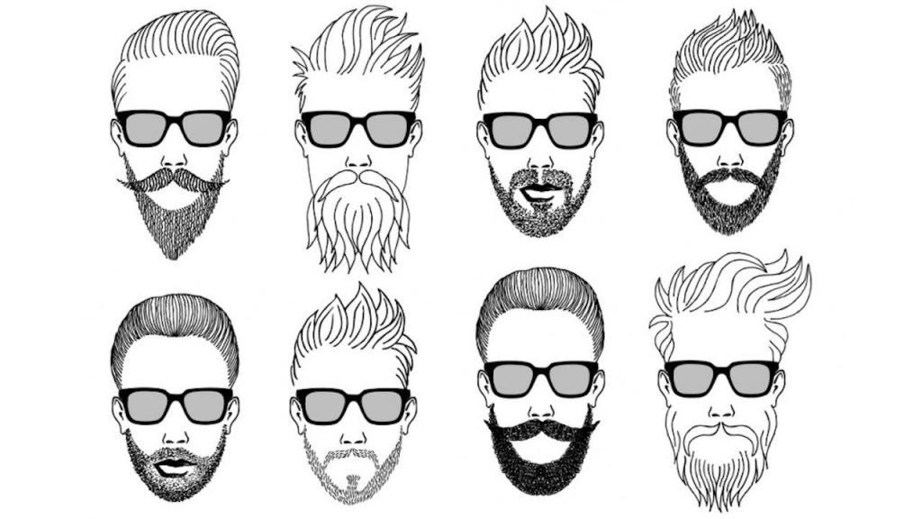 Types of beard haircuts