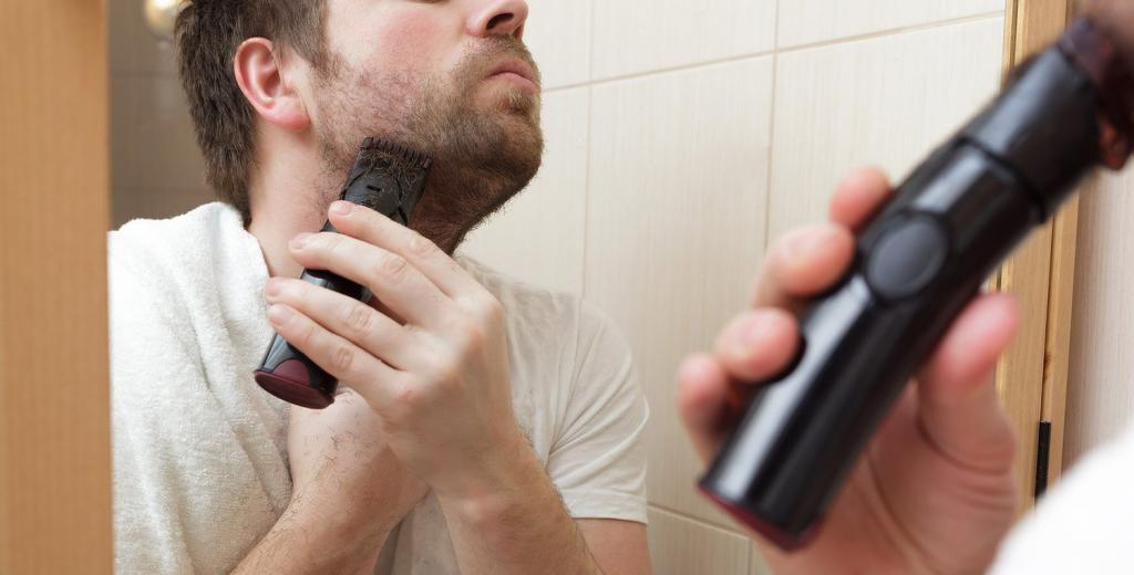 Beard trimming at home
