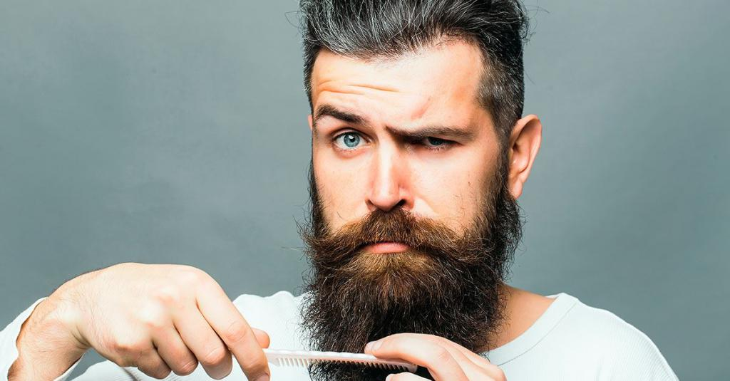Beard trimming by yourself