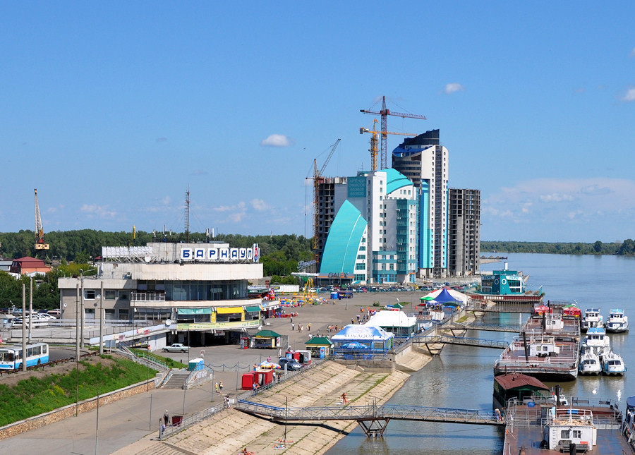 Where is located in Russia in Barnaul