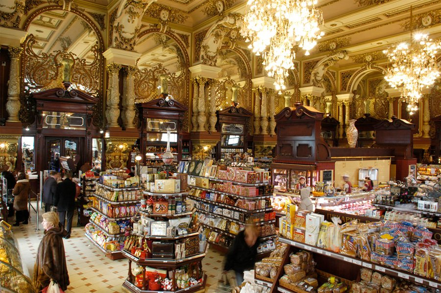 grocery store in TSUM