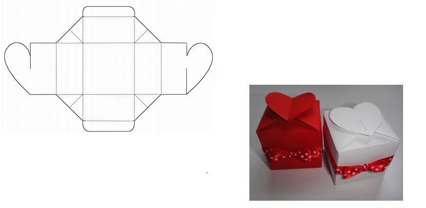 коробка с сердечком