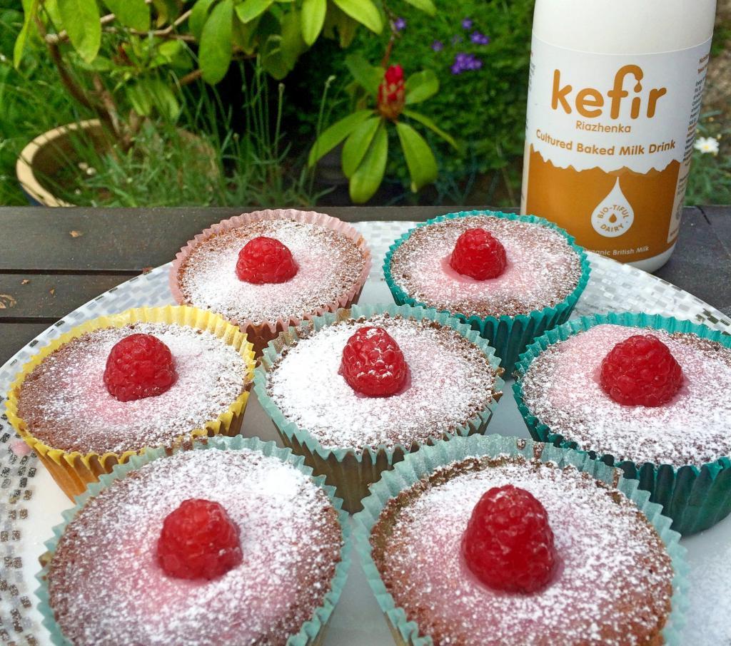 Cupcakes on kefir