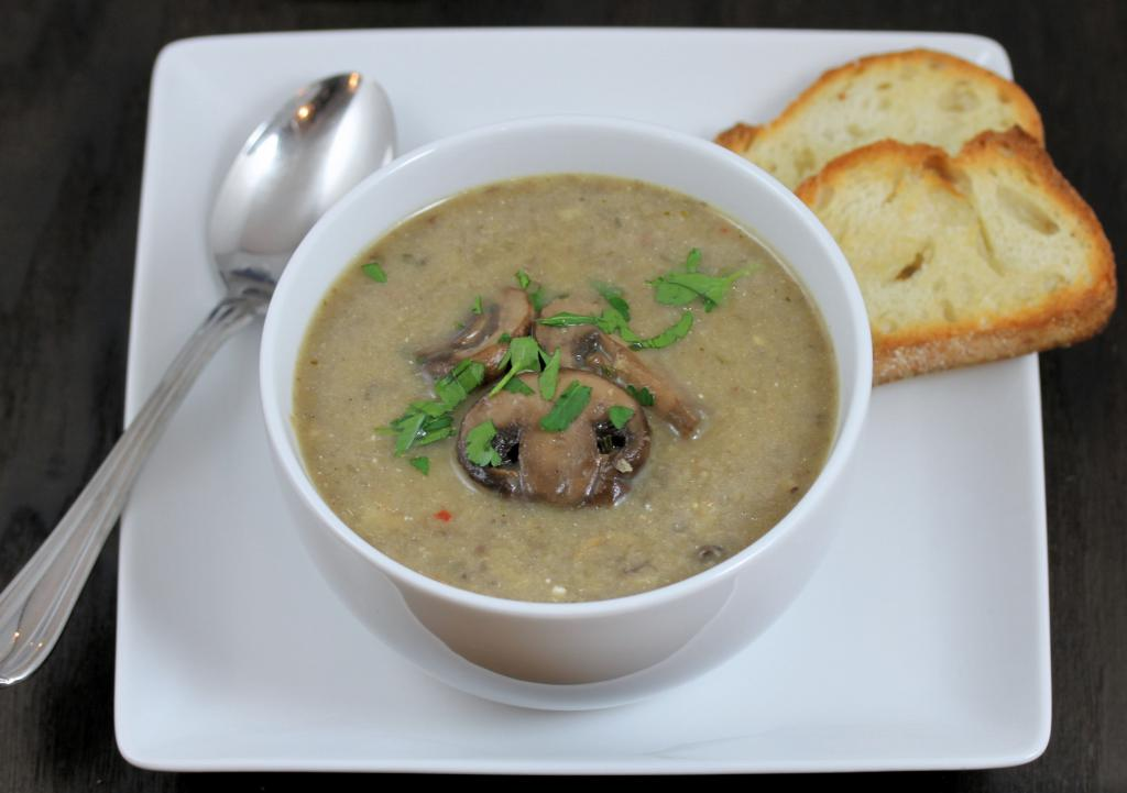 champignon puree soup