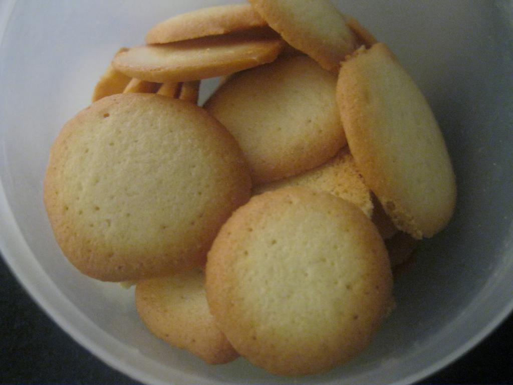 Cookies with yolks