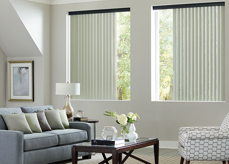 vertical plastic blinds