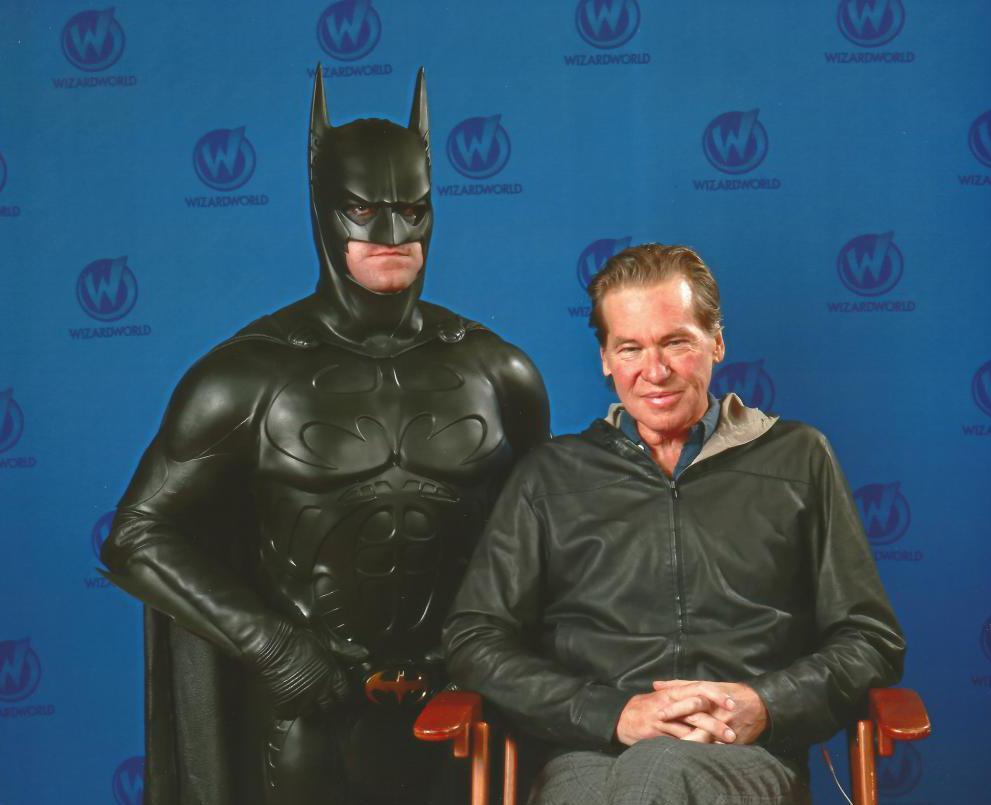 """""""Batman forever"""" role"""