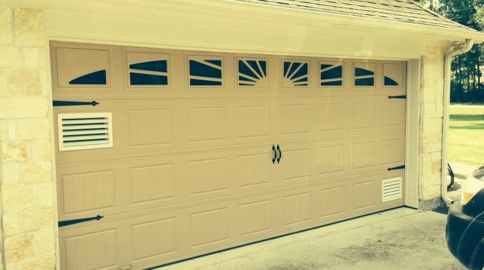 garage door ventilation system