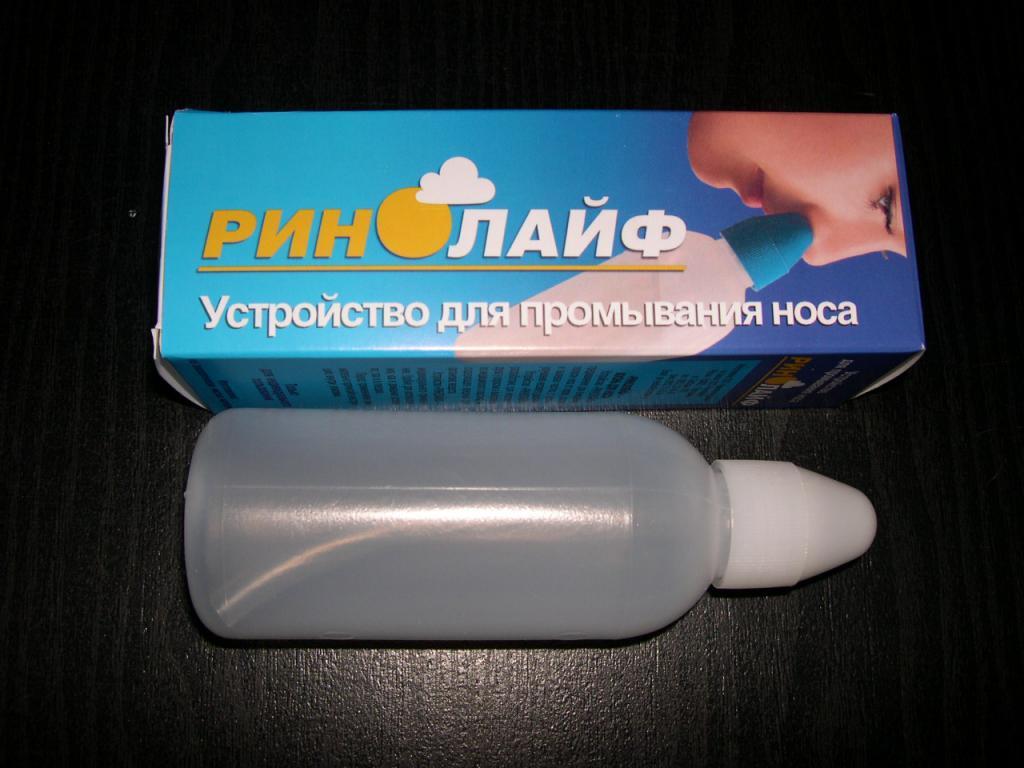 rhinolife nasal wash
