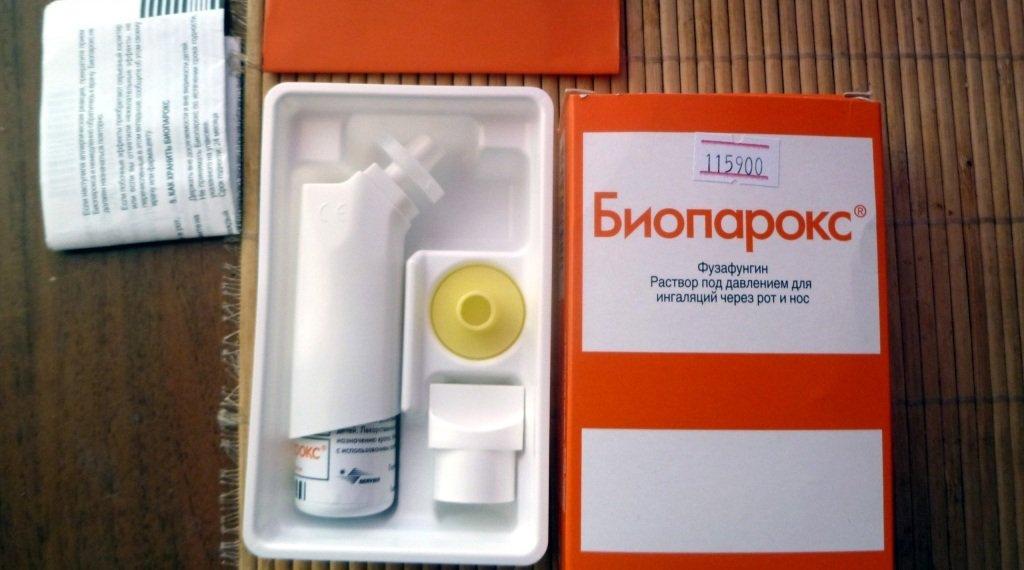 bioparox in the treatment of adenoids
