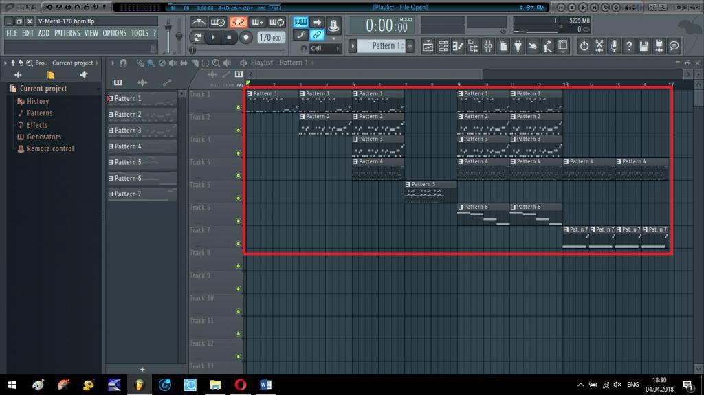 Создание цельной композиции в плейлисте