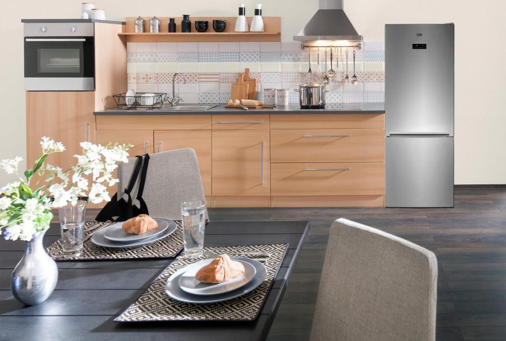 Beko RCNE520E21ZX refrigerator