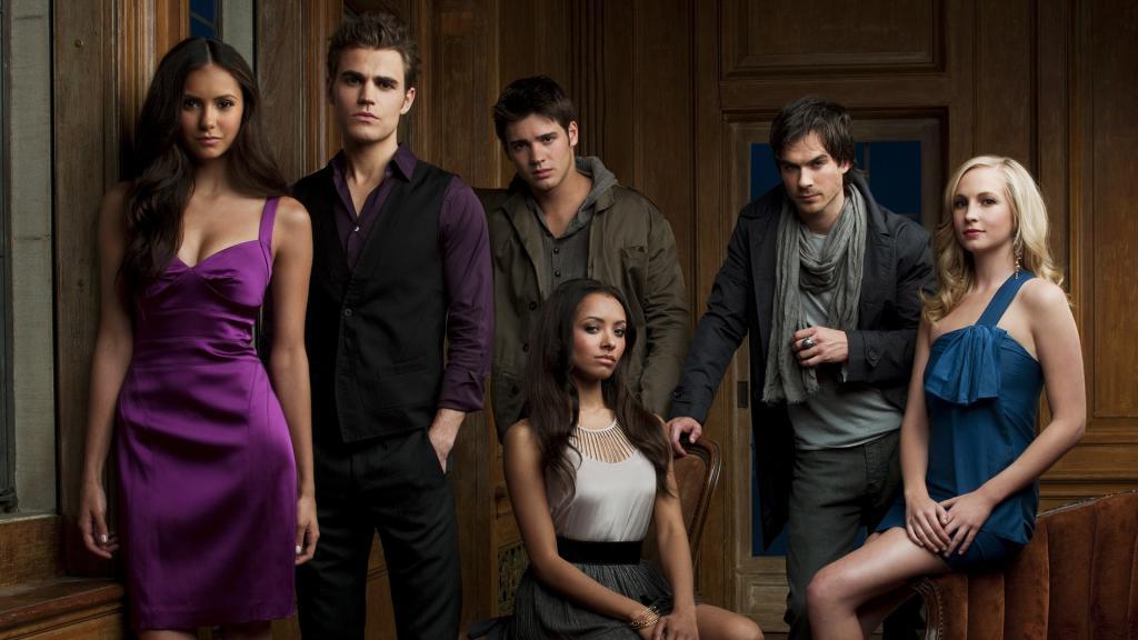 the vampire diaries tv series actors