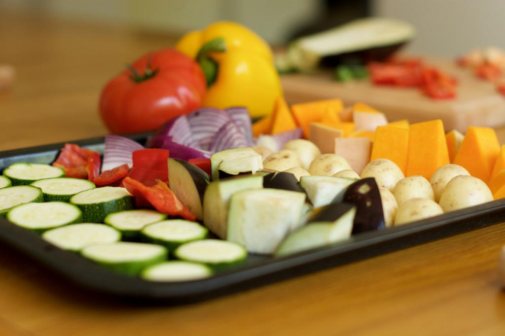 Healthy food with hernia