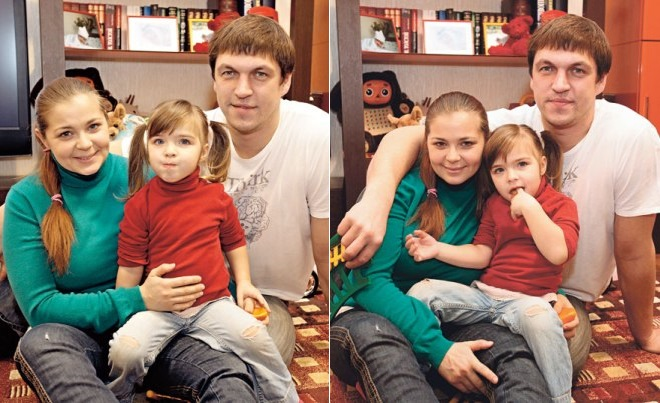 Irina Pegova and Dmitry Orlov